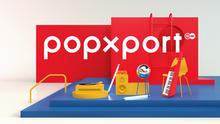 DW Popxport Sendungslogo