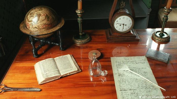 Рабочая комната в Доме-музее Шиллера, Веймар