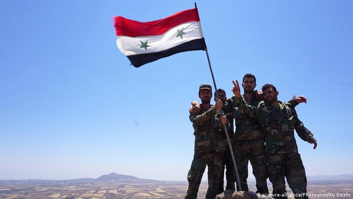 Syrian army (picture-alliance/Photoshot/Xu Dezhi)