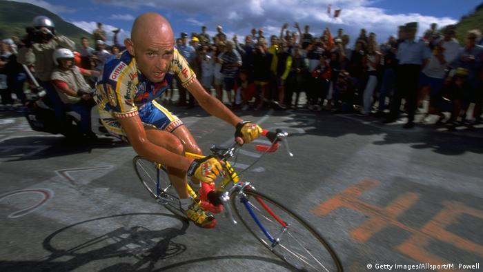Tour de France 1997  Marco Pantani, Italien - Team Mercatone Uno (Getty Images/Allsport/M. Powell)
