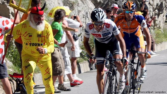 Tour de France 2008   Carlos Sastre, Spanien - CSC (picture-alliance/dpa/I. Langsdon)