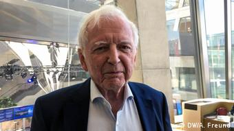 O pesquisador alemão Harald zur Hausen, Nobel de Medicina em 2008