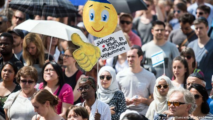 Deutschland Tag der Kippa in Bonn