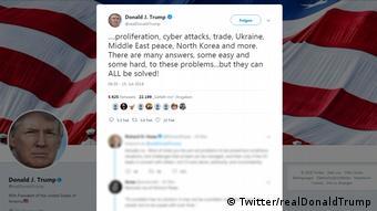 Twitter: Donald Trump 19.08