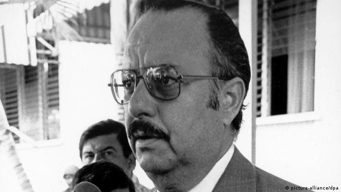 Bürgerkrieg in Nicaragua - Anastasio Somoza (picture-alliance/dpa)