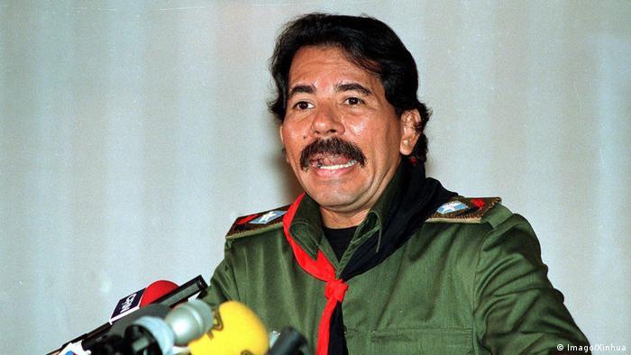 Bürgerkrieg in Nicaragua - Daniel Ortega (Imago/Xinhua)
