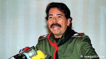 Daniel Ortega en 1984.