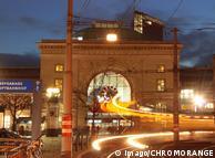 Вокзал Мангайма вночі