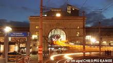 Deutschland Mannheim bei Nacht