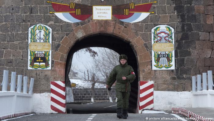 Gümrü'deki Rus askeri üssü