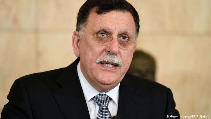 Libyen - Premier Fajis al-Sarradsch (Getty Images/AFP/F. Belaid)