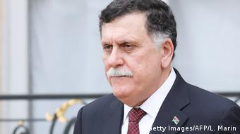 Libyen - Premier Fajis al-Sarradsch (Getty Images/AFP/L. Marin)