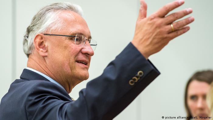 Deutschland Migration - Joachim Herrmann CSU