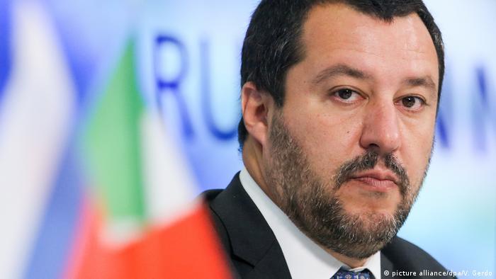 Resultado de imagem para Matteo Salvini