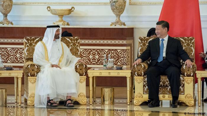 Vereinigte Arabische Emirate - Xi Jinping zu Besuch in Abu Dhabi (Reuters/WAM)