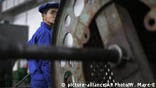 Nordkorea Wirtschaft (picture-alliance/AP Photo/W. Maye-E)