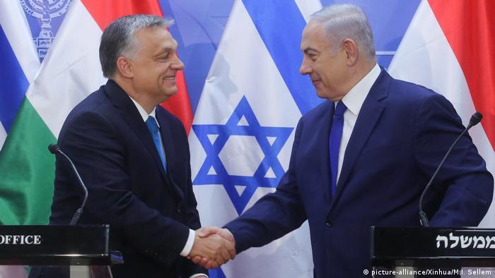 Israel Besuch Orban Premierminister Ungarn