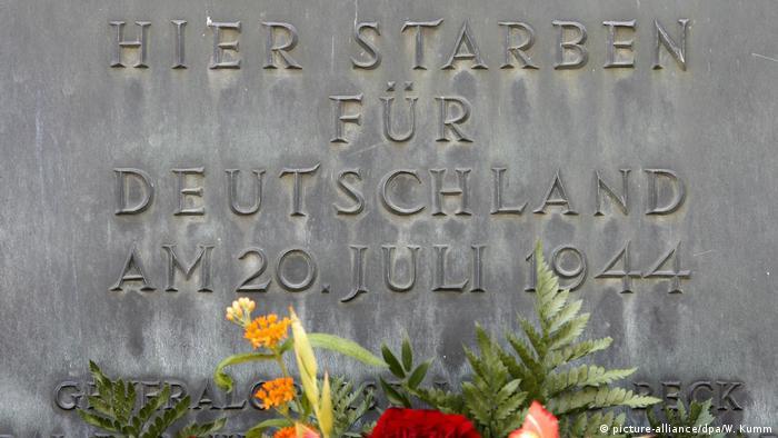 memorial for july 20 conspirators