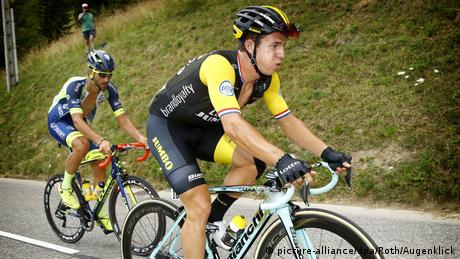 Tour de France 2018 | 10. Etappe | Dylan Groenewegen, Niederlande - Team Lotto NL (picture-alliance/dpa/Roth/Augenklick)