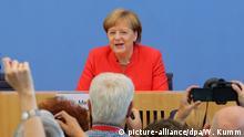 Sommerpressekonferenz Merkel