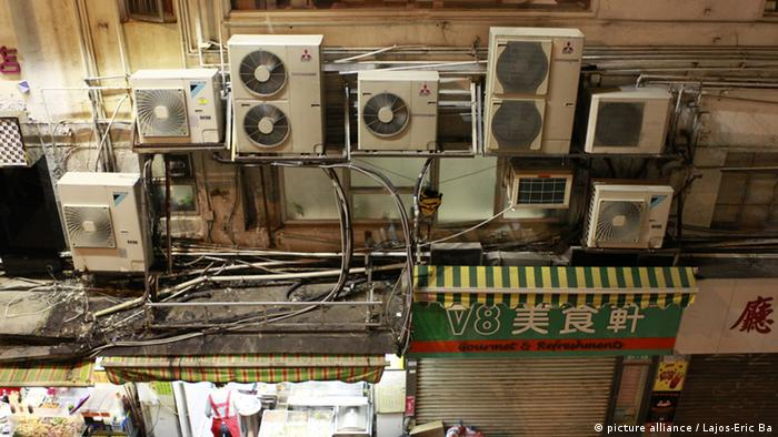 Air conditioners in Hong Kong