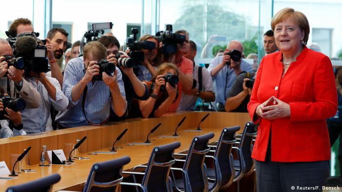 Меркель дала свою традиційну літню прес-конференцію