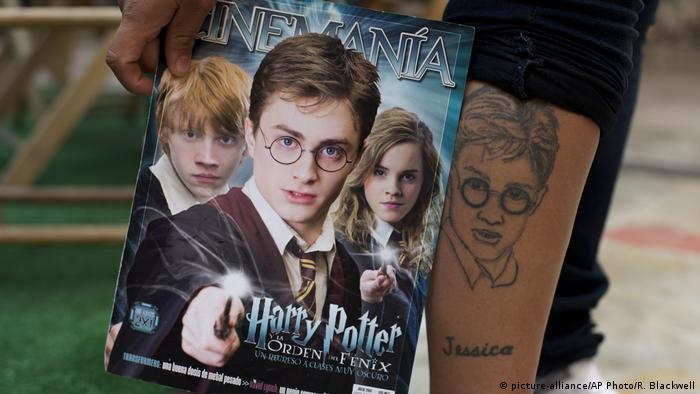 Mexico Harry Potter Tattoo (picture-alliance/AP Photo/R. Blackwell)