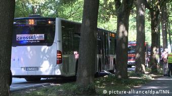 Autobus koji je bio poprište napada