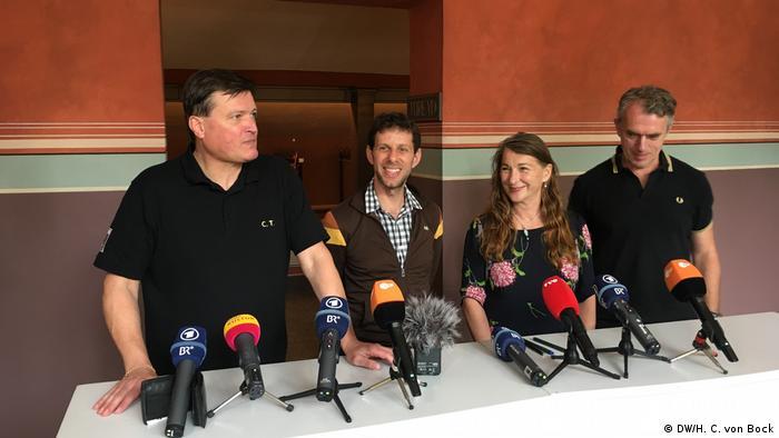 Bayreuth 2018: Christian Thielemann, director de orquesta, Yuval Sharon, director artístico, Rosa Ley y Neo Rauch, escenografía y vestuario.