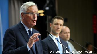 Belgien EU nimmt neuen Brexit-Plan aus London zurückhaltend auf   Michel Barnier (picture-alliance/AA/D. Aydemir )