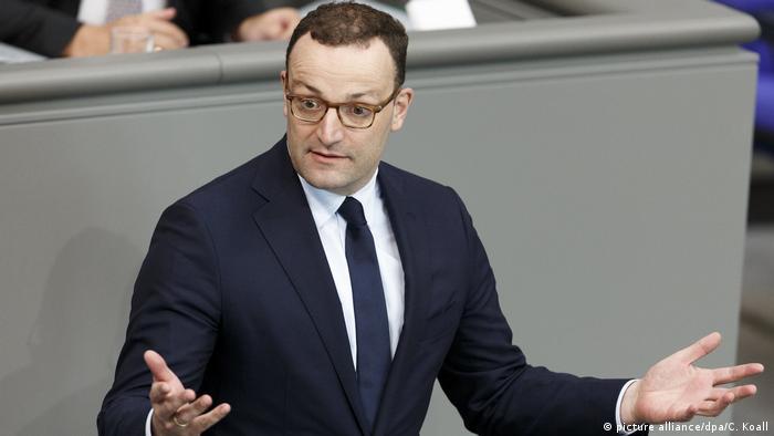 Deutschland Jens Spahn (picture alliance/dpa/C. Koall)