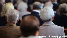 Deutschland Gottesdienst alte Menschen