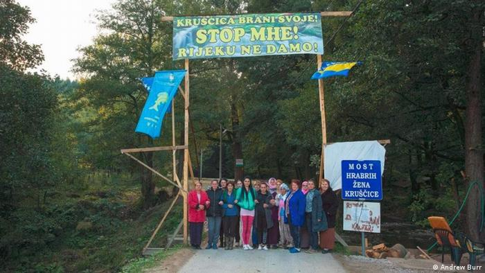 Bosnien-Herzegowina Tsunami der Dämme auf den Balkan