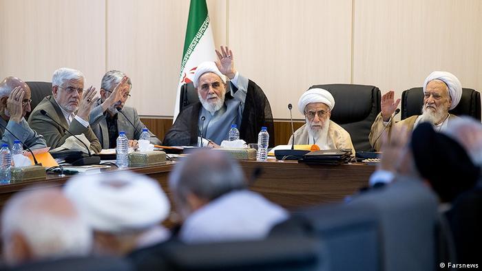 Iran Sitzung des Schlichtungsrats (Farsnews)