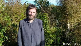 Glaciologist Brian Anderson