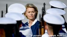 German Defense Minister Ursula von der Leyen (picture-alliance/dpa/B. Pedersen)