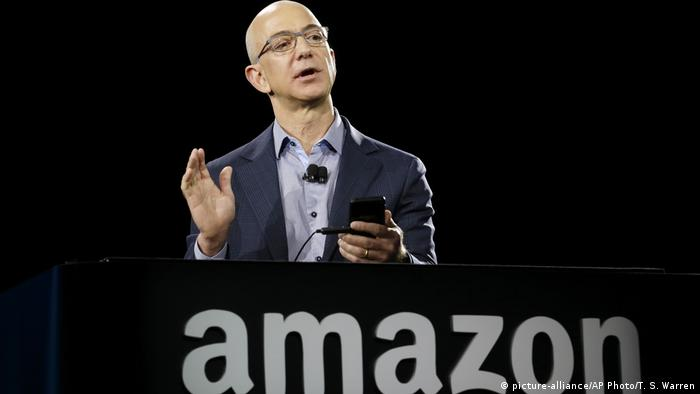 Jeff Bezos, fundador e presidente da Amazon