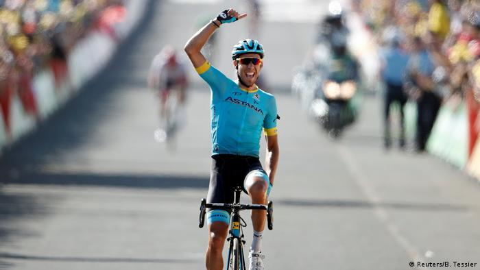 Omar Fraile claims first ever Tour de France stage win