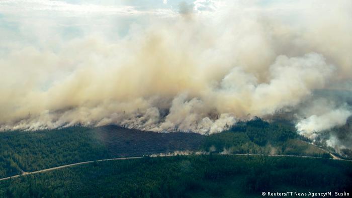 Schweden Waldbrände (Reuters/TT News Agency/M. Suslin)