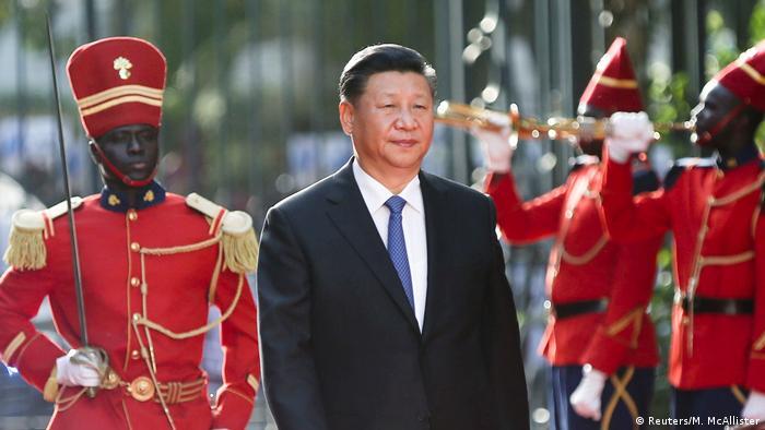 Senegal Xi Jinping auf Staatsbesuch (Reuters/M. McAllister)