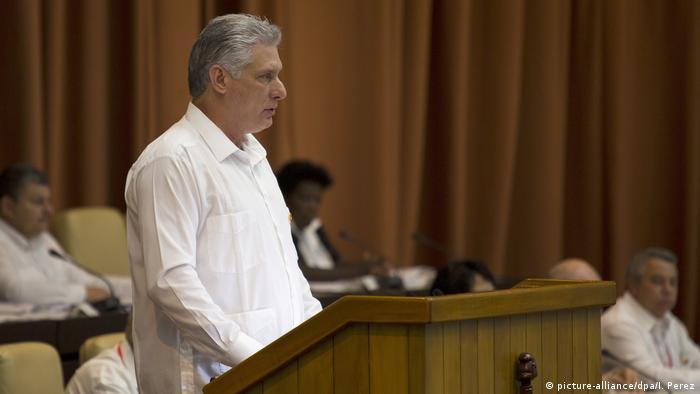 Kuba neue Verfassung macht Weg für Homo-Ehe frei   Miguel Díaz-Canel (picture-alliance/dpa/I. Perez)