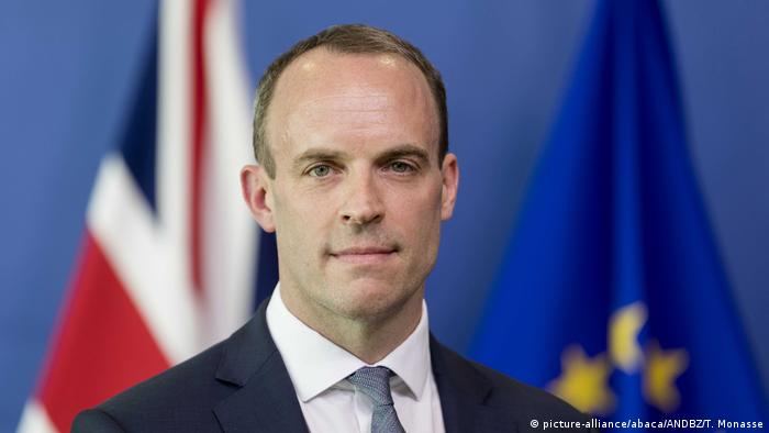 Brexit Secretary Dominic Raab (picture-alliance/abaca/ANDBZ/T. Monasse)