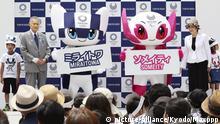 Japan Olympische Spiele 2020 | Maskottchen Miraitowa & Someity in Tokio