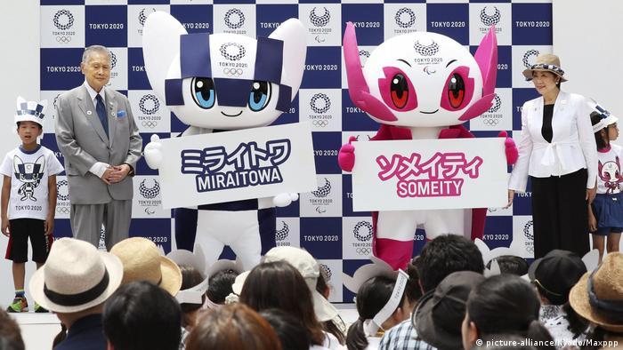 Мирайтова и Сомэйти - талисманы на Олимпийских и Паралимпийских играх в Токио
