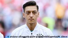 FUSSBALL WM 2018 Vorrunde Gruppe F 27.06.2018 Suedkorea 2-0 Deutschland Mesut Oezil (Deutschland) FOTO: ULMER Pressebildagentur/Markus Ulmer xxNOxMODELxRELEASExx |