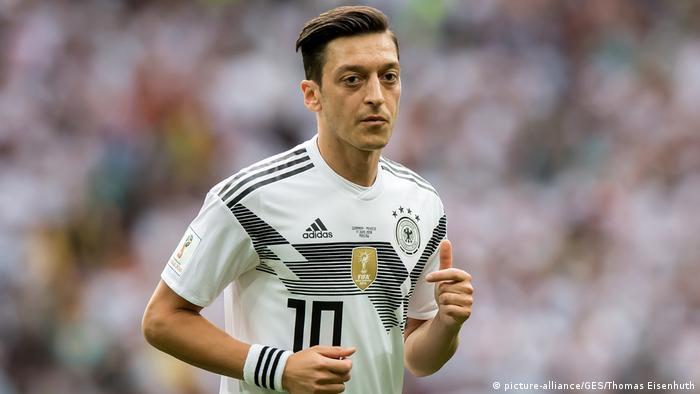 FIFA Fußball-WM 2018 in Russland | Mesut Özil, Deutschland (picture-alliance/GES/Thomas Eisenhuth)