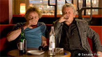 Szene aus dem Film Whisky mit Wodka