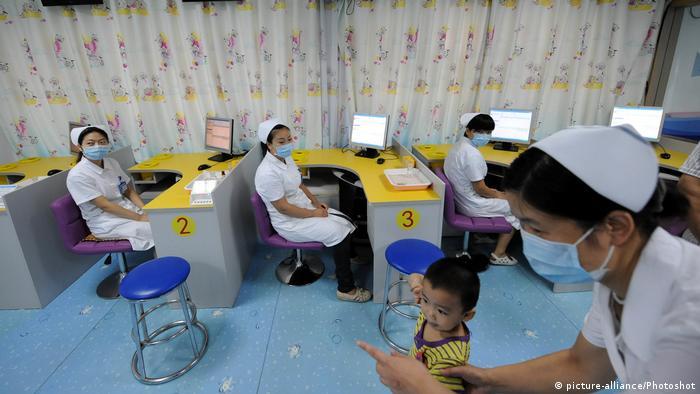 Kinderimpfungen in China