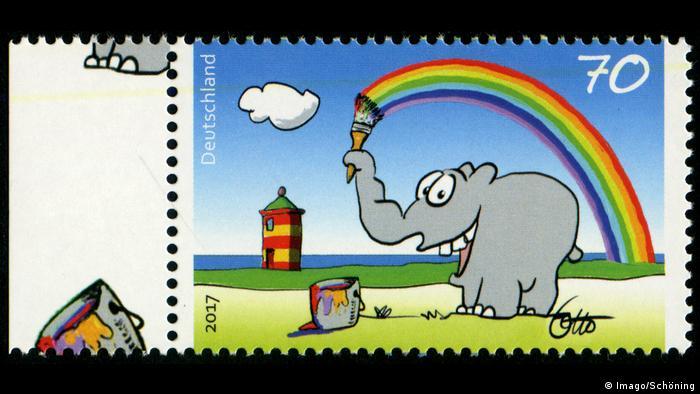 Briefmarke Deutsche Post Ottifant Ottifant