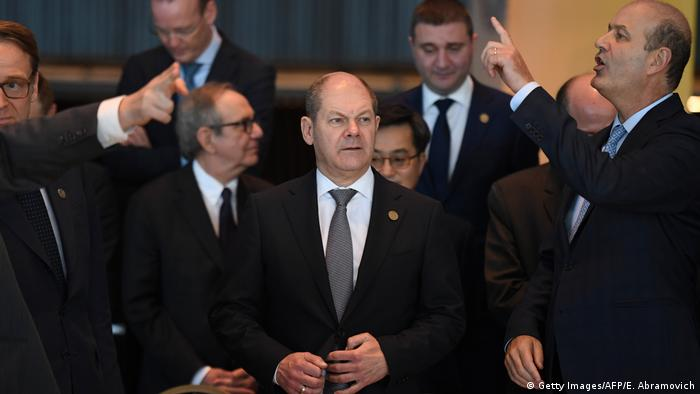 Buenos Aires G20 Finanzminister + Zentralbanken Treffen Scholz (Getty Images/AFP/E. Abramovich)
